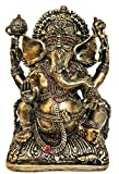 "Rare Lord Ganesh Ganesha Beautiful Statues Hindu Good Luck God"" (Bronze lord Ganesh)"