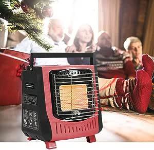 Smilerr - Calefactor de gas natural sin evacuación de 5000 ...