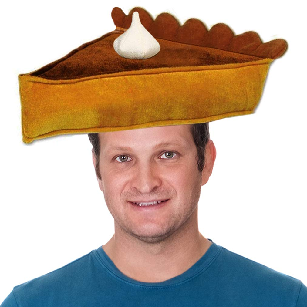 Funny Party Hats Thanksgiving Hats Thanksgiving Costumes Pumpkin Pie Hat Pumpkin Pie Hat