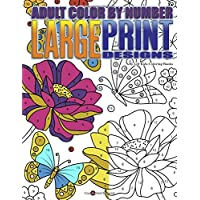 Adult Color By Number Large Print Designs