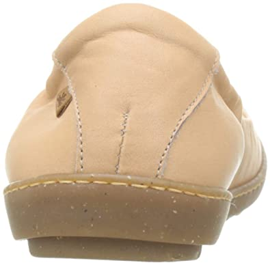 b7d180666d3 El Naturalista Women s s N5300 Dolce Nude Coral Closed Toe Ballet Flats   Amazon.co.uk  Shoes   Bags