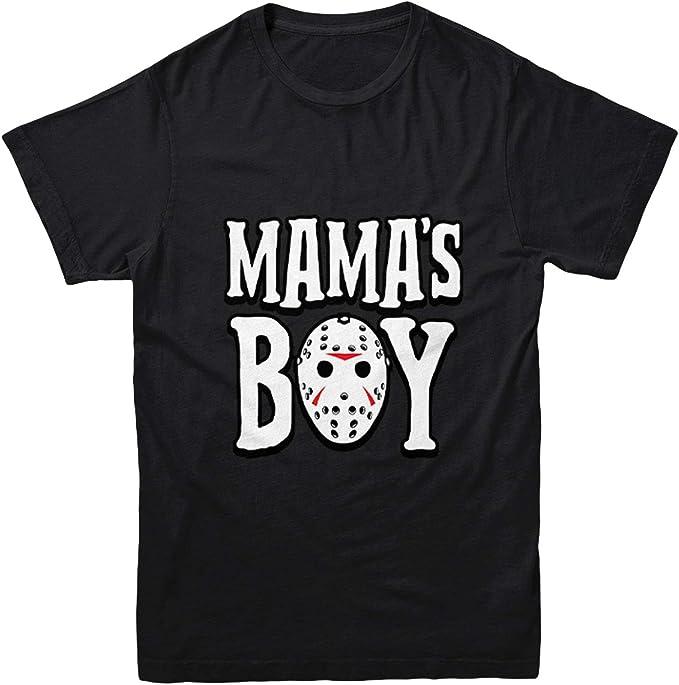 Jason Hockey Mask Halloween Toddler Fleece Crewneck Sweater Mamas Boy