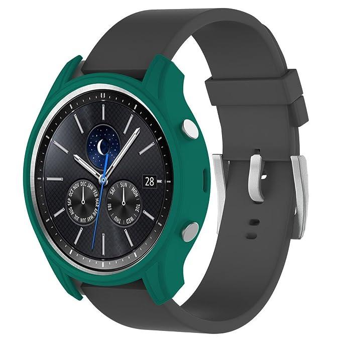 lonshell ht8957 alta calidad silicona Slim Smart reloj ...