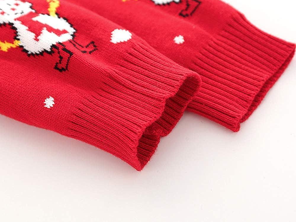 Fine Knit Winter 3-24 Months New Boys Snowflake Christmas Jumper /& Bottoms