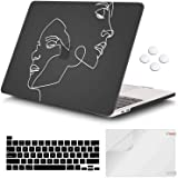 iCasso MacBook Pro 13 inch Case 2020 Release A2338M1/A2251/A2289, Plastic Hard Shell Case & Keyboard Cover & Screen…