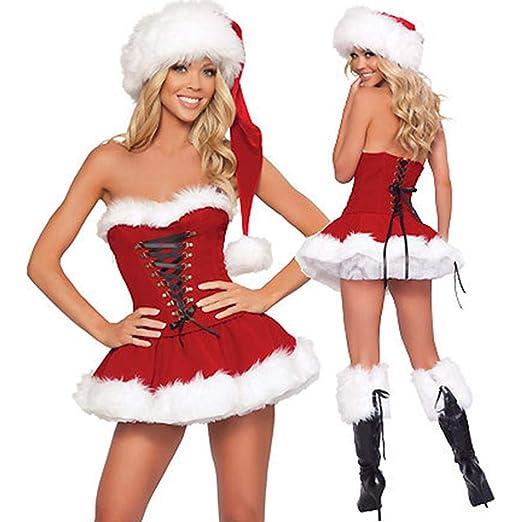 perfecti Disfraz De Forro Polar De Miss Santa Disfraz Mamá ...