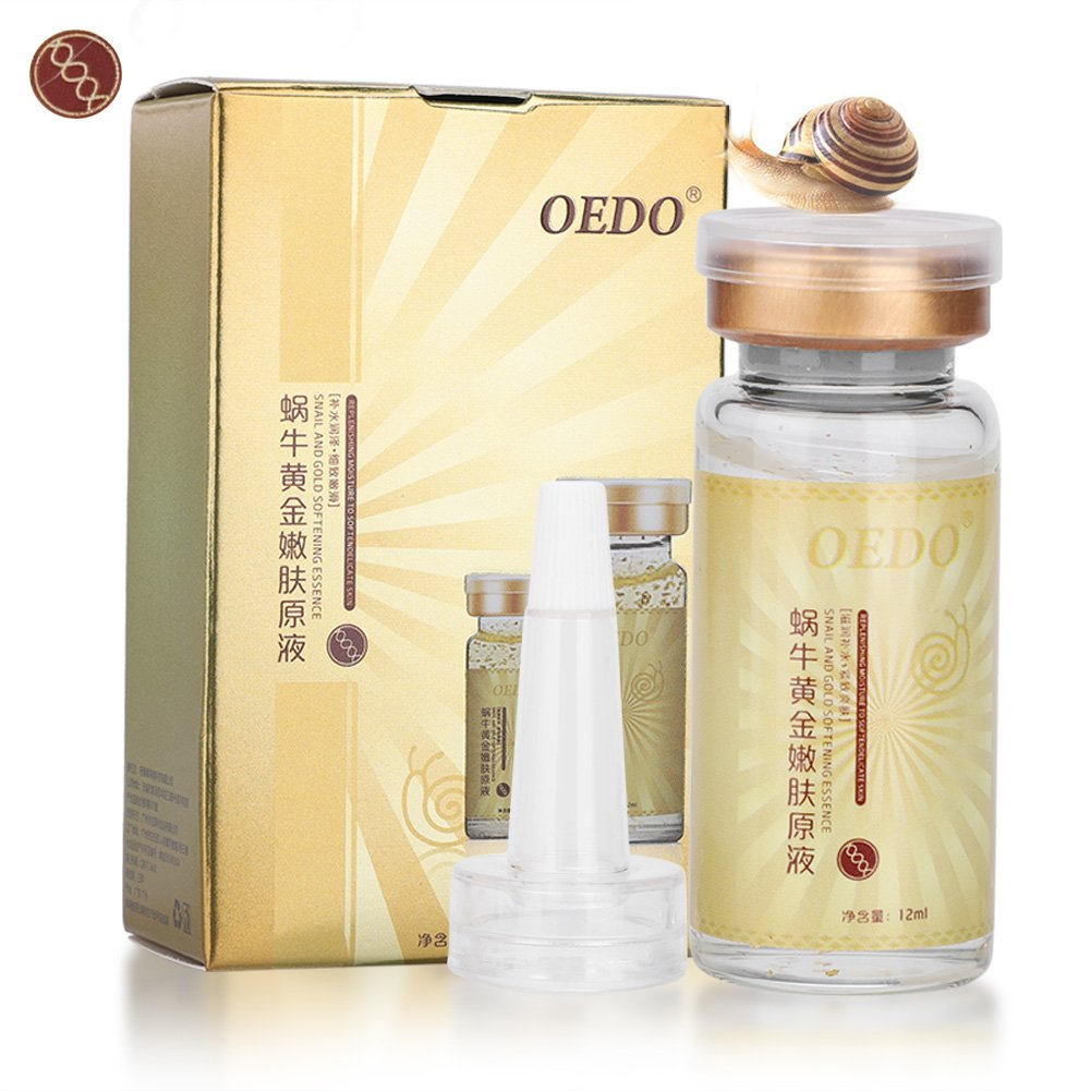 Essenza Siero, Snail and Gold Essence Hyaluronic Acid Whitening Anti-aging Moisturizing Firming Serum Yotown