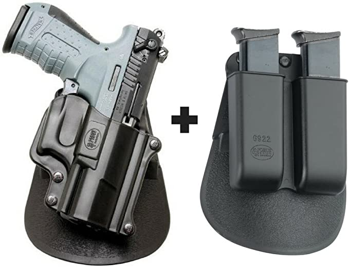 """MAG POUCH WALTHER P22 .22LR RH SHOOTER Magazine Holder Fits Belts up to 1.5/"""""""