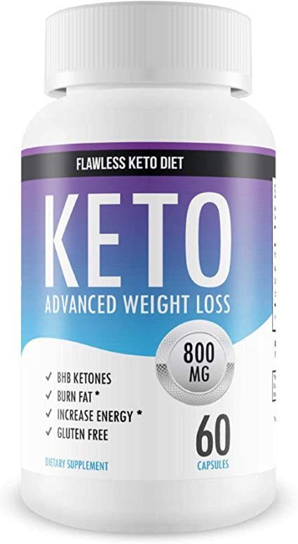 Amazon Com Flawless Keto Diet Advanced Weight Loss Supplement Ketogenic Fat Burner Supports Healthy Weight Loss Burn Fat Instead Of Carbs 30 Day Supply Health Personal Care