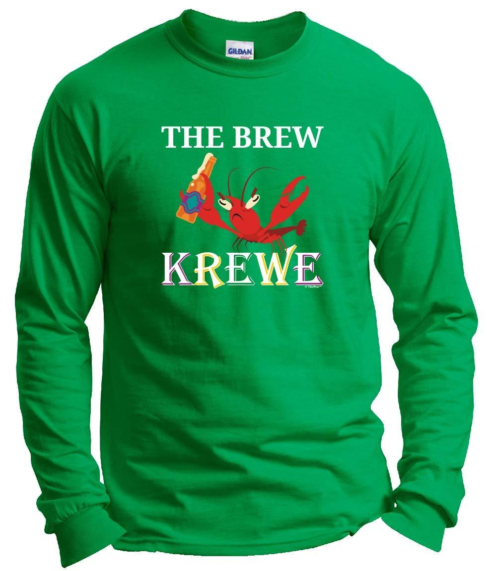 Mardi Gras Out The Brew Krewe Mardi Gras Attire T Shirt 5073