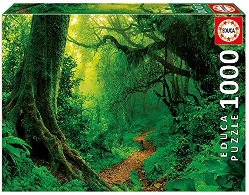 Enchanted Forest Jigsaw Puzzle - Educa Children's 1000 Enchanted Forest Puzzle