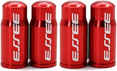 French Valve Caps Dust Cover SpeedPark Alloy Bike Bicycle Tube Presta Red