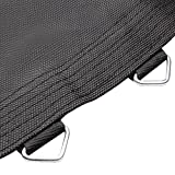 Weatherproof Trampoline Mat 96 Rings for 15' Frame 7'' Spring 8R Stitching 13.3'