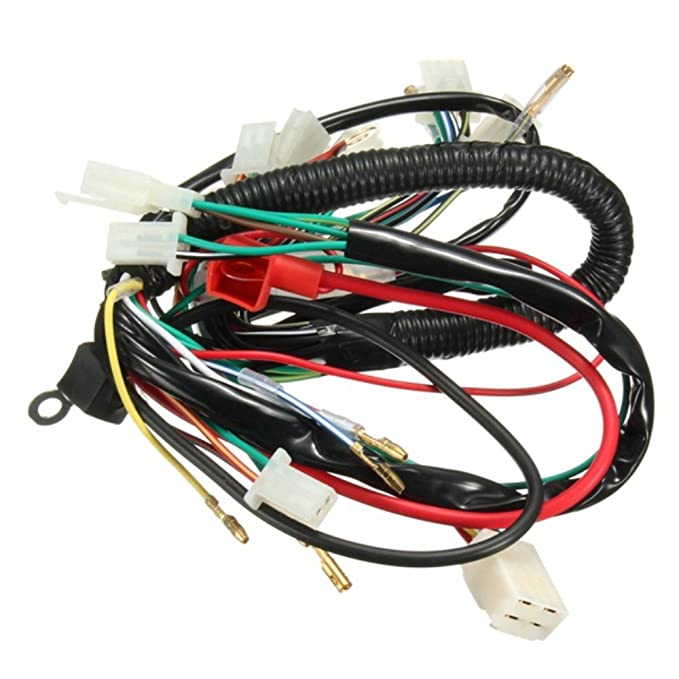 Atv Parts & Accessories Humor Engine Wire Wiring Harness Loom 50cc 110cc 125cc Pit Quad Dirt Bike Atv Buggy