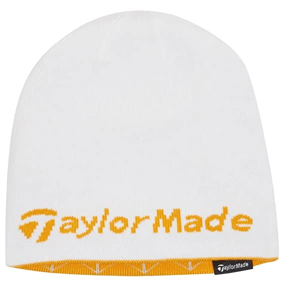 Amazon.com   2015 Ladies TaylorMade Reversible Thermal Golf Beanie Double  Knitted Womens Hat Turquoise Black   Sports   Outdoors 612f3b059f8c