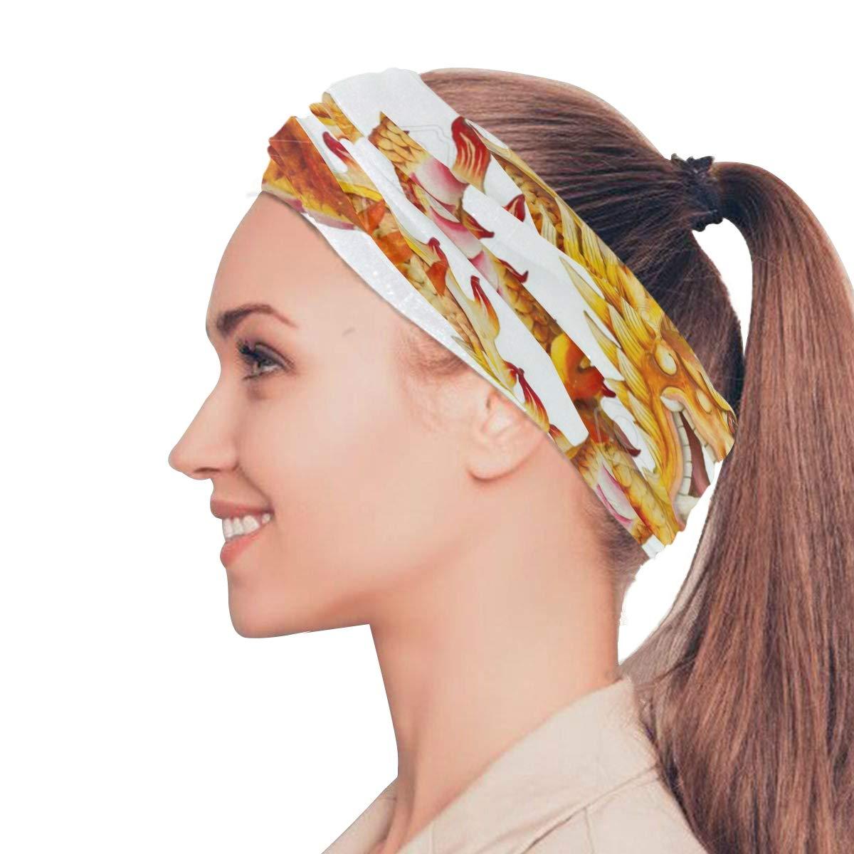 Magic Headwear Long Hair Feathers Outdoor Scarf Headbands Bandana Mask Neck Gaiter Head Wrap Mask Sweatband