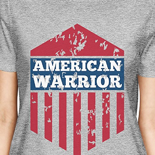 shirt Femme American Printing Unique Courtes Warrior 365 Taille T Manches wPFxwEX8