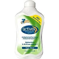 Activex Antibakteriyel Sıvı Sabun, Doğal, 1.5 lt