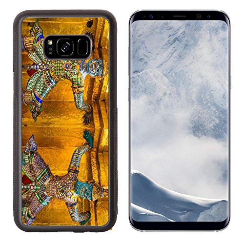 Luxlady Samsung Galaxy S8 Plus S8  Aluminum Backplate Bumper Snap Case Image Id 26079772 Guardian Is Bearers Pagoda To Protect The Evl