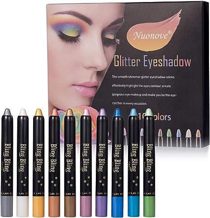 Sombra de Ojos Stick, Pen Eyeshadow, Eyeshadow Glitter, Lápiz de ...