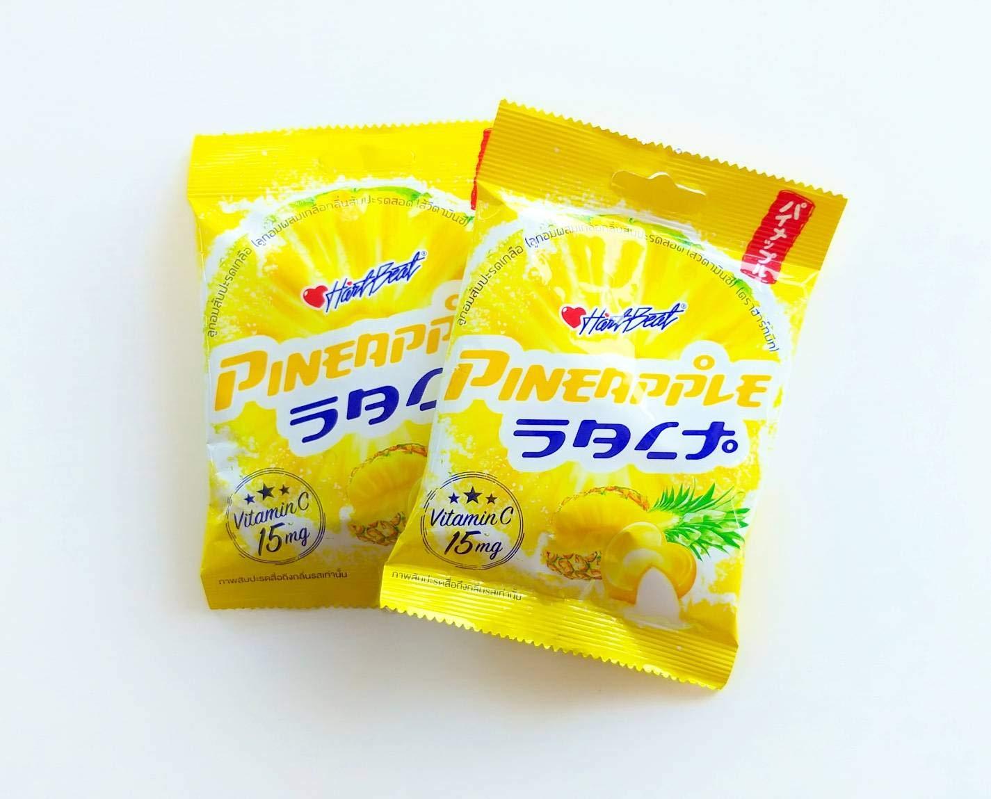 Pineapple Salt Candy with Vitamin C Powder 3 Packs