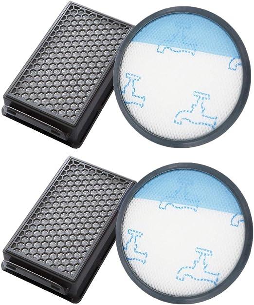 iAmoy Kit de Filtro de Espuma y HEPA Compatible con Rowenta ...