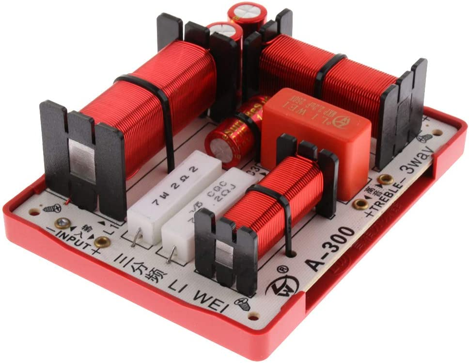 KESOTO 180W Altavoces Bajo de Audio Frecuencia Divisor Filtros de Cruce de 3 Vías Piezas para Altavoz de Coche