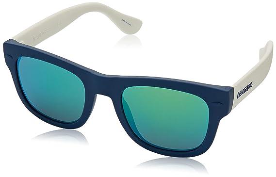 Havaianas Unisex-Erwachsene Sonnenbrille Trancoso/M Y1 O9N, Schwarz (Black/Grey Grey), 49