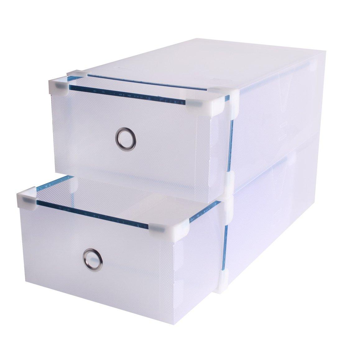 Loywe Schuhaufbewahrung Schuh Box Schuhe Schuhbox Schuhkasten Schuhkarton 5 St LWA190-5X