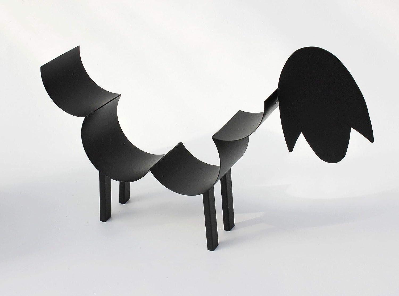 DanDiBo Porta asciugamani colore: nero a forma di pecora