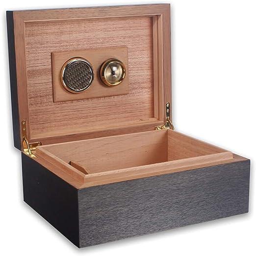 Cigar Humidors Cigar Caja, Cedro Madera Forro de Cigarro Grueso ...