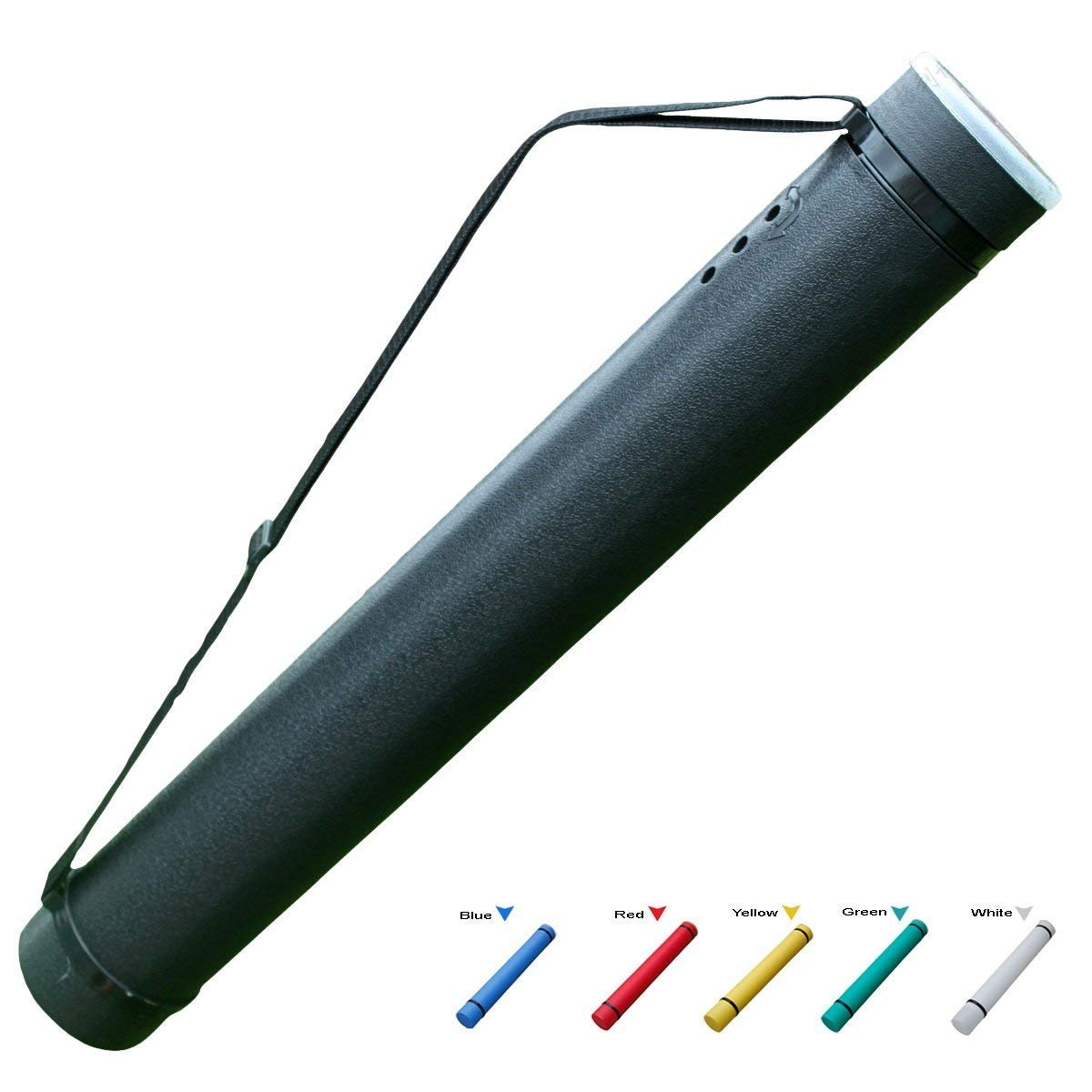 MailingArt Expanding Document Poster Tube 24.8 Inches up to 40 Inches - 3.5'' Diameter Water Light Resistant - Telescoping Posters, Artwork Drawings by MailingArt (Image #6)