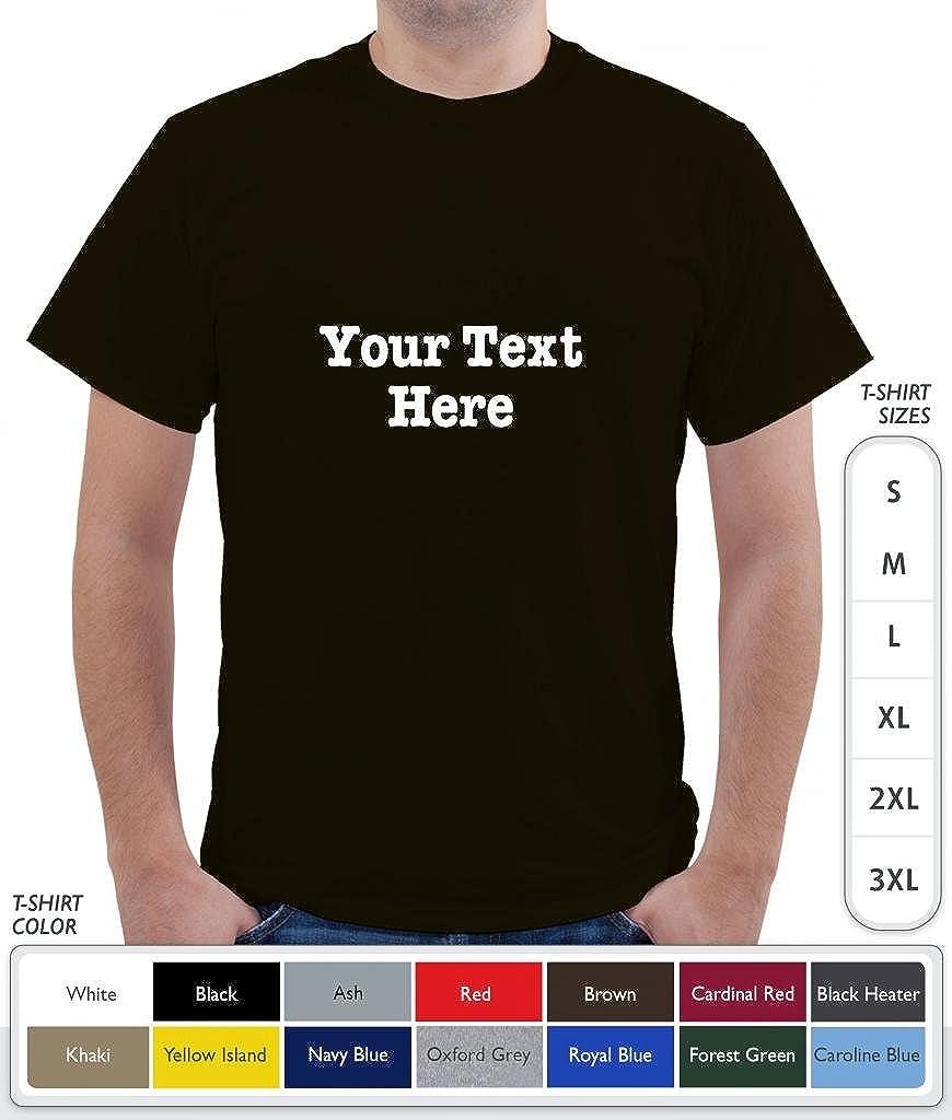 Amazon.com: PERSONALIZED T Shirt AmericanTypewriter Black White ...