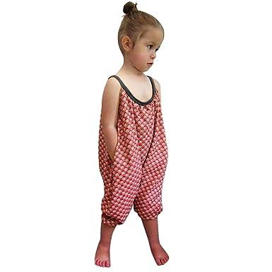 e54757a543fa Amazon.com  Vicbovo Little Girl Summer Clothes