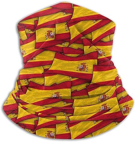 Pinakoli - Braga de Cuello de Forro Polar - España Flag Wave ...