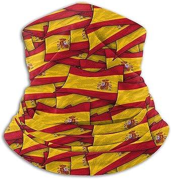 Pinakoli - Braga de Cuello de Forro Polar - España Flag Wave Collage - Braga de Cuello, pañuelo, máscara, Diadema y Gorro: Amazon.es: Deportes y aire libre