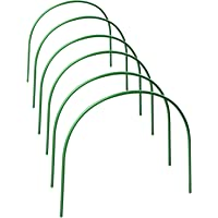 easybuy Folientunnel, 6PCS Hochbeet Abdeckung Pflanztunnel Foliengewächshaus Pflanztunnel Bögen Kunststoff