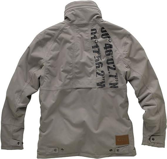 Gill Sail Jacket in Flint Grey 1052