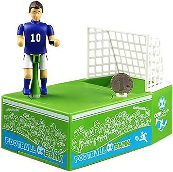 LSERVER - Hucha para niños con diseño de balón de fútbol eléctrico ...