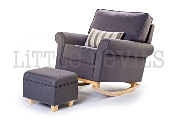 The New Hush Hush RockingNursingGlider Chair Converts into