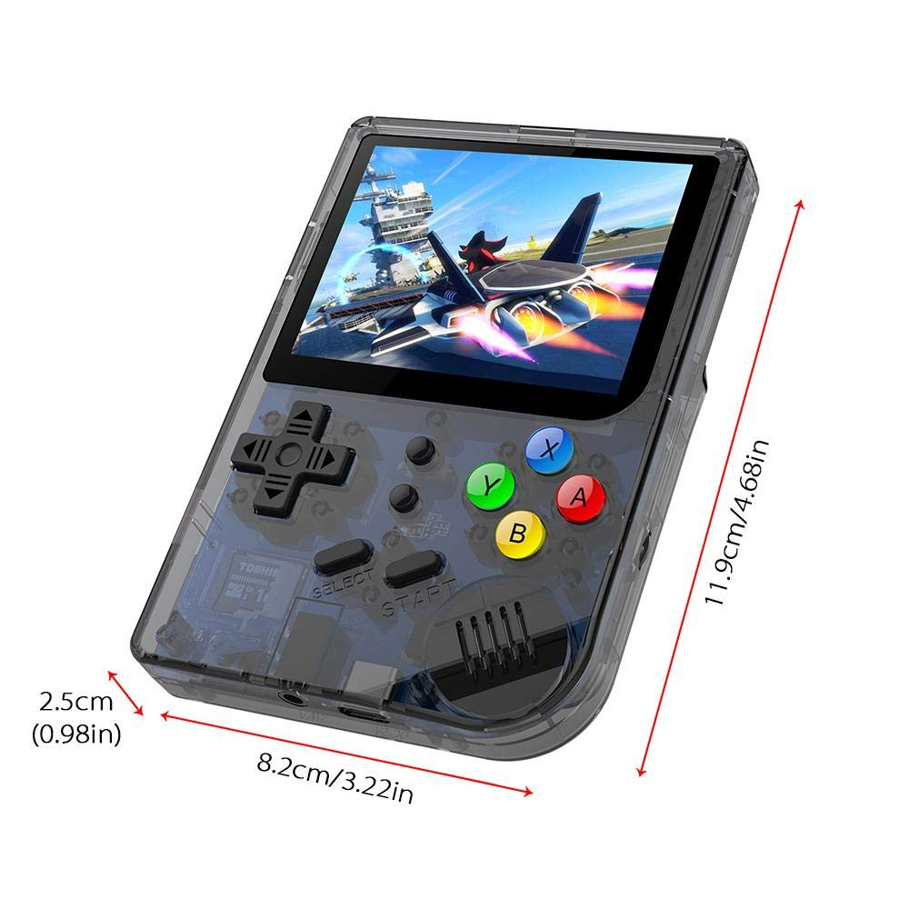 Layopo RG300 Game Console, Opening Linux Tony System Retro Handheld Game Console 16GB Support 32G TF Card 3 Inch Screen More Than 3000 Games Portable Video Game Console by Layopo (Image #2)