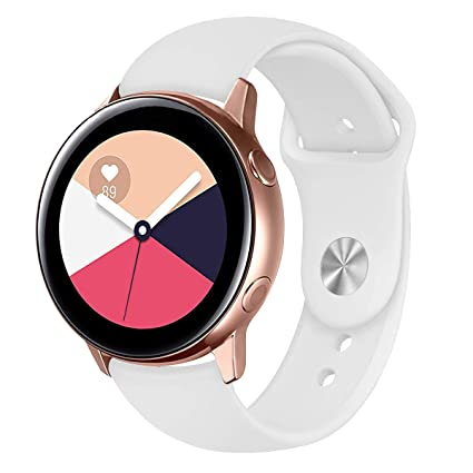 MOSTY Compatible con Samsung Galaxy Watch Active Strap 42mm,20mm ...