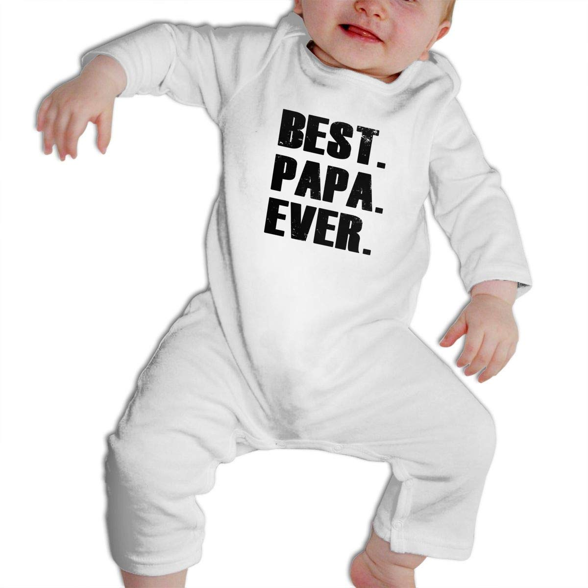 Cami Best. Papa. Ever. Baby Boys Girls Long Sleeve Onesies Infant Bodysuit Baby For 6-24months