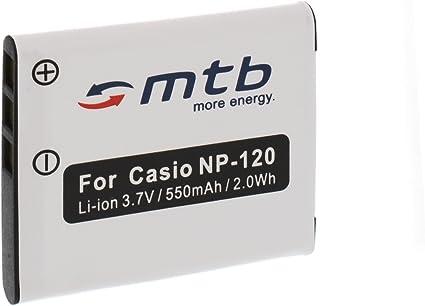 Original OTB batería BATTERY np-120 para Casio Exilim ex-s200 ex-zs10 ex-zs12