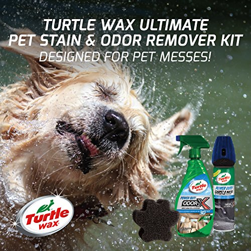 Turtle Wax 50756 Ultimate Pet Stain Amp Odor Remover Kit