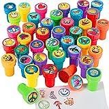 German Trendseller® - 12 x Tampons avec encre intégrée que┃les enfants se mélangent┃ les enfants