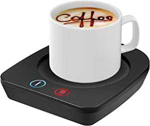 VOBAGA Coffee Mug Warmer&Cup Warmer for Office Desk Use, Electric Beverage Warmer with Three Temperature Settings, Coffee Warmer for Cocoa Tea Water Milk with Auto Shut Off(NO CUP) (X-MAS)