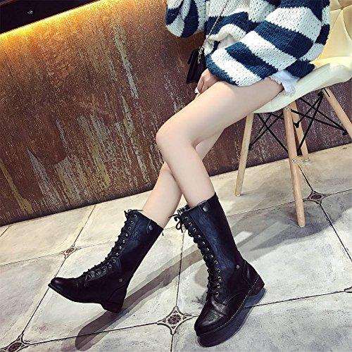 Chaussures Hiver de Bottes Femme R Minetom H8TtxY
