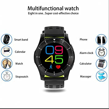 Reloj Intelligent Bluetooth smartwatch con Notificación de ...