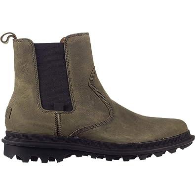 3058763f81ae6 Sorel Mens Ace Chelsea Waterproof Boot, Quarry/Black, Size 8
